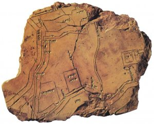 Ancient Map of Nippur